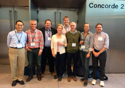 Frances Arnold group at the XXIV Enzyme Engineering Conference, Toulouse,  September 2017