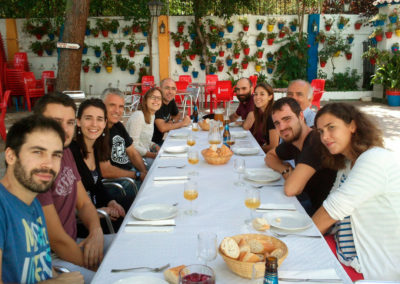 Lunch of ABG at the Casa de Córdoba, Sept2014
