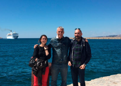 April2016, Patri, Xavi and Miguel in Marseille (Indox Project Meeting)