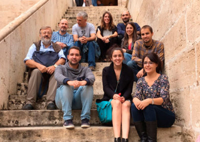 Spanish partners of Indox EU Project. Valencia, October 2016