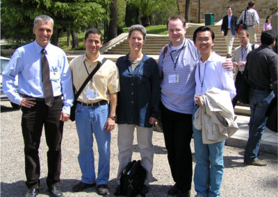 With Frances and other Caltech friends (Environmental Biocatalysis Conference, Cordoba 2006)