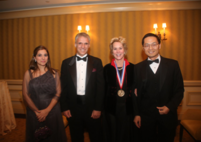 Frances awarded with the National Science and Technology medal, Washington, 2013