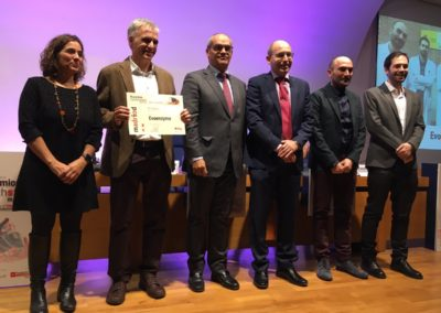 EvoEnzyme awarded with the first prize of Madrid HealthStart contest, Dec2018