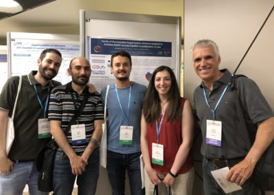 Berni, Xavi, Ivan, Eva and Miguel at the SEBBM Conference, July2019
